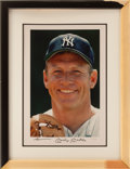 "Baseball Collectibles:Photos, Mickey Mantle Signed Oversized ""Upper Deck Authenticated"" Photograph...."