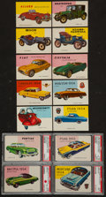 "Non-Sport Cards:Sets, 1954-55 Topps ""World On Wheels"" Complete Set (180). ..."