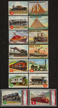 "Non-Sport Cards:Sets, 1955 Topps ""Rails and Sails"" High Grade Complete Set (200). ..."