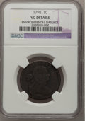 1798 1C --Environmental Damage--NGC Details. VG....(PCGS# 1431)