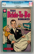 Silver Age (1956-1969):Romance, True Bride-to-Be Romances #27 File Copy (Harvey, 1957) CGC NM- 9.2Cream to off-white pages....