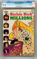Bronze Age (1970-1979):Cartoon Character, Richie Rich Millions #42 File Copy (Harvey, 1970) CGC NM/MT 9.8Off-white to white pages....