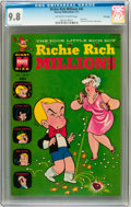 Bronze Age (1970-1979):Cartoon Character, Richie Rich Millions #45 File Copy (Harvey, 1971) CGC NM/MT 9.8Off-white to white pages....