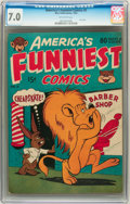 Golden Age (1938-1955):Funny Animal, America's Funniest Comics #2 (Wm. H. Wise & Co., 1944) CGCFN/VF 7.0 Off-white pages....