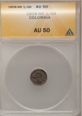 Colombia, Colombia: Carolus IIII 1/4 Real 1808-NR,...