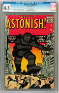 Silver Age (1956-1969):Mystery, Tales to Astonish #3 (Marvel, 1959) CGC VG+ 4.5 Off-white pages....