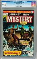 Bronze Age (1970-1979):Horror, Journey Into Mystery #9 Don Rosa Collection pedigree (Marvel, 1974)CGC NM+ 9.6 White pages....