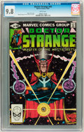 Modern Age (1980-Present):Superhero, Doctor Strange #49 (Marvel, 1981) CGC NM/MT 9.8 White pages....