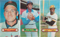 Baseball Cards:Lots, 1961 Nu-Card Scoops, 1970 Topps Supers, 1971 Topps Supers and 1972 Topps Baseball Posters (49). ...