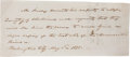 "Autographs:U.S. Presidents, James Polk Autograph Letter Signed ""Mr. Polk"" as Speaker of the House of Representatives. One page, approximatel..."