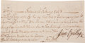 Autographs:Statesmen, James Oglethorpe Document Signed. ...