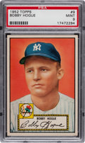 Baseball Cards:Singles (1950-1959), 1952 Topps Bobby Hogue #9 PSA Mint 9 - Pop 2, None Higher! ...
