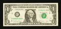 Error Notes:Miscellaneous Errors, Fr. 1915-C $1 1988A Federal Reserve Note. Very Fine.. ...