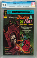 Bronze Age (1970-1979):Horror, Ripley's Believe It Or Not #44 (Gold Key, 1973) CGC NM 9.4 Whitepages....
