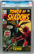Bronze Age (1970-1979):Horror, Tower of Shadows #8 Bowling Green pedigree (Marvel, 1970) CGC FN6.0 Off-white to white pages....