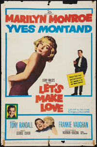 """Let's Make Love (20th Century Fox, 1960). One Sheet (27"""" X 41""""), Pressbook (Multiple Pages, 13"""" X 16.5&qu..."""