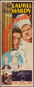 """Movie Posters:Comedy, Nothing But Trouble (MGM, 1945). Insert (14"""" X 36""""). Comedy.. ..."""