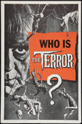 "Movie Posters:Horror, The Terror (American International, 1963). One Sheet (27"" X 41""). Teaser. Style B. Horror.. ..."