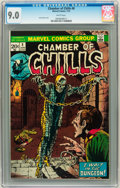 Bronze Age (1970-1979):Horror, Chamber of Chills #8 (Marvel, 1974) CGC VF/NM 9.0 White pages....