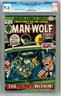 Bronze Age (1970-1979):Horror, Creatures on the Loose #31 Man-Wolf (Marvel, 1974) CGC NM+ 9.6White pages....
