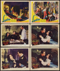 """Movie Posters:War, First Comes Courage Lot (Columbia, 1943). Lobby Cards (6) (11"""" X14""""). War.. ... (Total: 6 Items)"""