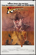 "Movie Posters:Adventure, Raiders of the Lost Ark (Paramount, 1981). One Sheet (27"" X 41"").Adventure.. ..."