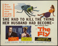 "Movie Posters:Science Fiction, The Fly (20th Century Fox, 1958). Half Sheet (22"" X 28""). ScienceFiction.. ..."