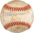 Autographs:Baseballs, 1982 Baltimore Orioles Team Signed Baseball with Cal Ripken, Jr....