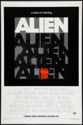 """Movie Posters:Science Fiction, Alien (20th Century Fox, 1979). One Sheet (27"""" X 41""""). Advance.Science Fiction.. ..."""