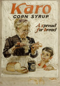 Mainstream Illustration, JOSEPH CHRISTIAN LEYENDECKER (American, 1874-1951). Karo CornSyrup, preliminary advertising study. Oil on canvas. 18 x ...