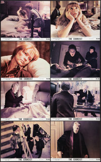 "The Exorcist (Warner Brothers, 1974). Mini Lobby Card Set of 8 (8"" X 10""). Horror. ... (Total: 8 Items)"