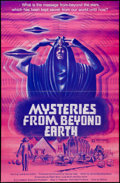 "Movie Posters:Documentary, Mysteries from Beyond Earth (American National Enterprises, 1975). One Sheet (24.5"" X 38""). Documentary.. ..."