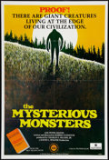 "Movie Posters:Documentary, The Mysterious Monsters (Sunn Classic, 1975). One Sheet (27"" X 41""). Documentary.. ..."
