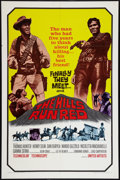 """Movie Posters:Western, The Hills Run Red (United Artists, 1966). One Sheet (27"""" X 41"""").Western.. ..."""