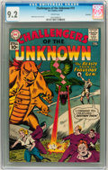 Silver Age (1956-1969):Science Fiction, Challengers of the Unknown #19 Savannah pedigree (DC, 1961) CGC NM-9.2 Cream pages. ...