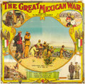 "Movie Posters:Documentary, The Great Mexican War (El Paso Film Company, 1914). Six Sheet (79""X 80"").. ..."