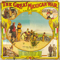 "The Great Mexican War (El Paso Film Company, 1914). Six Sheet (79"" X 80"")"
