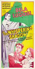 "Movie Posters:Serial, The Whispering Shadow (Mascot, 1933). Three Sheet (41"" X 81"").. ..."