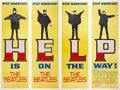 "Movie Posters:Rock and Roll, Help! (United Artists, 1965). Door Panel Set of 4 (20"" X 60"").. ...(Total: 4 Items)"