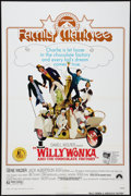 """Movie Posters:Fantasy, Willy Wonka & the Chocolate Factory (Paramount, R-1974). One Sheet (27"""" X 41""""). Family Matinee Style. Fantasy.. ..."""