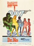 "Movie Posters:James Bond, Dr. No (United Artists, 1962). Poster (30"" X 40"").. ..."
