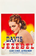 "Movie Posters:Drama, Jezebel (Warner Brothers, 1938). Window Card (14"" X 22"").. ..."