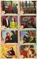 "Movie Posters:Musical, Rose Marie (MGM, 1936). Lobby Card Set of 8 (11"" X 14"").. ...(Total: 8 Items)"