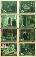 "Movie Posters:Horror, The Devil Bat (PRC, 1940). Lobby Card Set of 8 (11"" X 14"").. ...(Total: 8 Items)"
