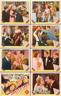 "Movie Posters:Comedy, Libeled Lady (MGM, 1936). Lobby Card Set of 8 (11"" X 14"").. ...(Total: 8 Items)"