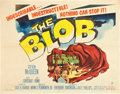 """Movie Posters:Science Fiction, The Blob (Paramount, 1958). Half Sheet (22"""" X 28"""").. ..."""