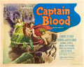 "Movie Posters:Adventure, Captain Blood (Warner Brothers, 1935). Half Sheet (22"" X 28""). AlexRaymond Art Style.. ..."