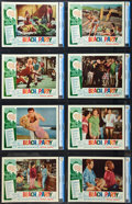 "Movie Posters:Comedy, Beach Party (American International, 1963). CGC Graded Lobby CardSet of 8 (11"" X 14"").. ... (Total: 8 Items)"