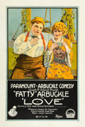 "Movie Posters:Comedy, Love (Paramount, 1919). One Sheet (27"" X 41"").. ..."