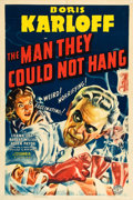 "Movie Posters:Horror, The Man They Could Not Hang (Columbia, 1939). One Sheet (27"" X41"").. ..."